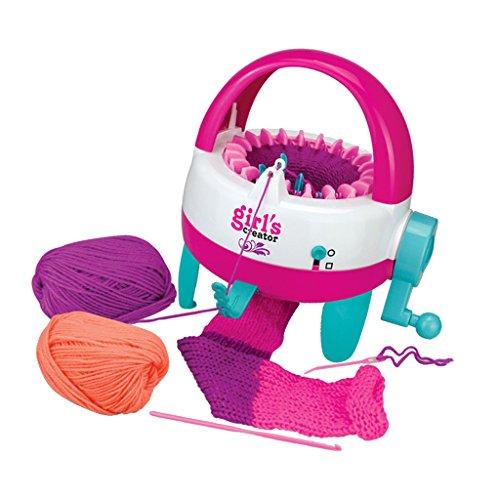 Juguete de Máquina Que Hace Punto para DIY Sombrero Bufanda Calcetines de Mano Regalo para Niños - Cubo Redondo