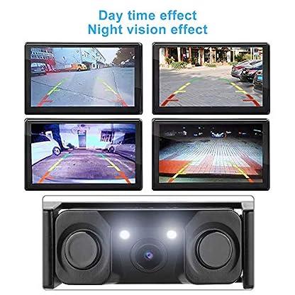 Sonew-Auto-Rckfahrkamera-Full-HD-Front-Auto-Videorecorder-Rckfahrkamera-Kit-mit-2LED-einfache-Installation-wasserdicht