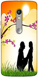 Snoogg Mothers Day Background Designer Protective Back Case Cover For Motorol...