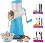 #10: Floraware Vegetable Cutter Rotary Grater and Slicer Vacuum Base