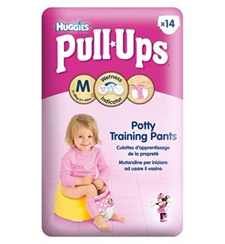 Huggies Pull-UpsPrincipesse Disney Ragazze Formato 5 Pantaloni Di Formazione Vasino - 1 X 14 Pantaloni