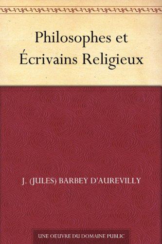 Couverture du livre Philosophes et Écrivains Religieux