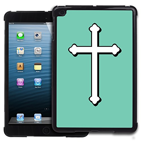 Graphic4You Kreuzr Design Harte Hülle Case Tasche Schutzhülle für Apple iPad Mini 1 / 2 / 3 (Tiffany Blau) (Case 3 Tiffany Ipad Mini)