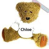 Occasion, Chloe nommé cadeau personnalisé Ours en peluche d'occasion  Livré partout en France