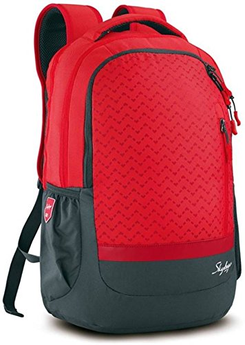 3102c0635e7 1% OFF on Skybags Lazer 01 Red Laptop Backpack on Amazon ...