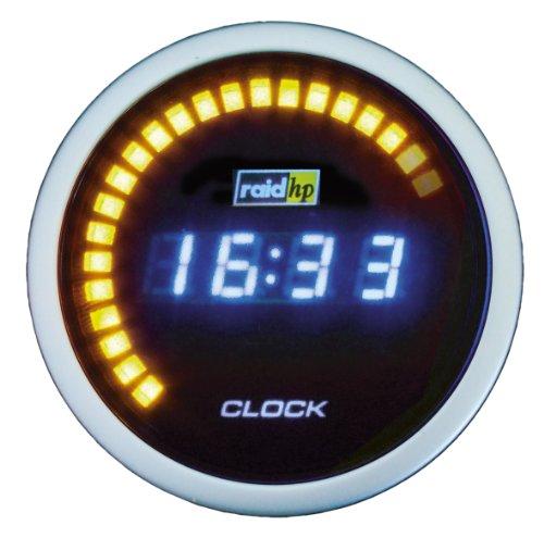 Preisvergleich Produktbild Raid HP 660510 Zusatzinstrument Uhr Serie Night Flight Digital Blue