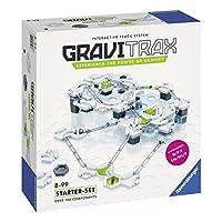GraviTrax è il sistema di tutti i nuovi Stem Track da Ravensburger! Usa la tua immaginazione per costruire le tracce ricco di azione e impostare le palle di rotolamento.Il set di avviamento viene fornito con oltre 100 componenti e offre tutto il nec...