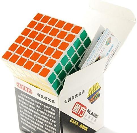 LanLan Magic Cube Puzzles 3D Puzzle Blanc 6x6x6 Cube Cadeaux de Noël,Christmas   De Qualité Constante