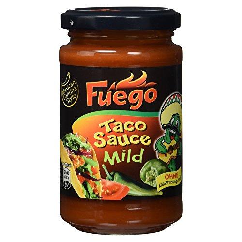 Zutaten Küche Mexikanische (Fuego Taco Sauce mild, 200 ml)