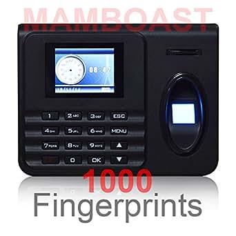 Pointeuse/Pointeur/Pointage USB - Enregistrement 1000 Empreintes Digitales Horloge / Export Excel