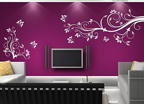 Adesivi murali adesivo muro tatuaggio soggiorno camera da for Adesivi muro cucina