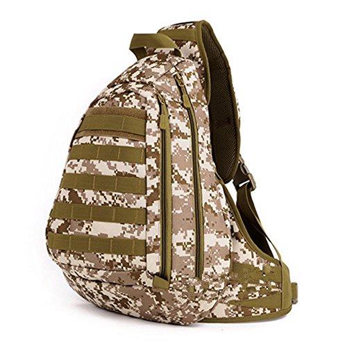 Xiuxiandianju 20L Outdoor-vollbusige Fahrt Taschen Freizeit Taschen Taschen Rucksack Schultertaschen geschlungen Rucksack desert