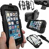Coque Protection Robuste Usage Survivant Antichoc Robuste pour iPhone 3 3G 3GS - Noir, Apple iPhone 6