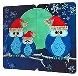 Wenko Herdabdeckplatte Abdeckplatten Weihnachtseule 2er Set