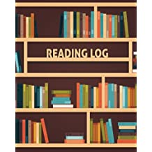 """Reading Log: Reading Journal For Book Lover Large 8x10"""" 100 Pages For Spacious Record"""