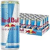 Red Bull Sugarfree Energy Drink, 24er Pack, Einweg (24 x 250 ml )
