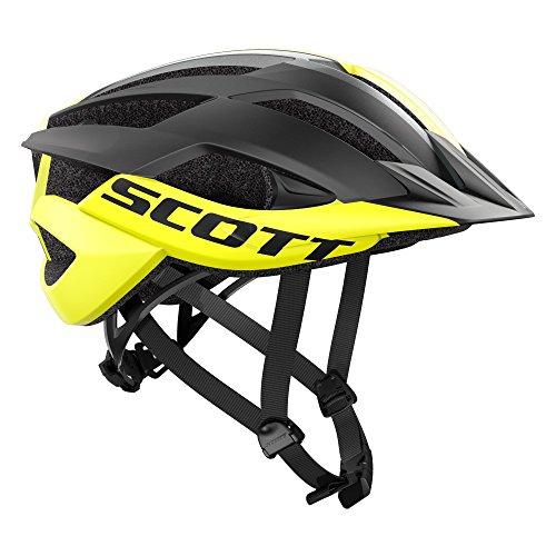 Scott Arx MTB Fahrrad Helm gelb/schwarz 2019: Größe: L (59-61cm)