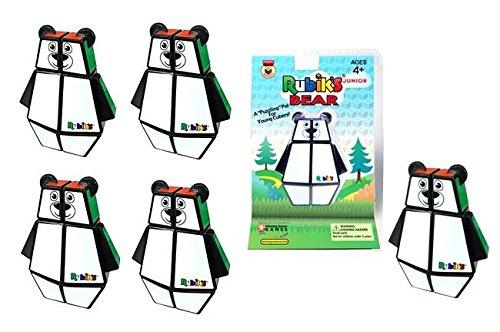 Preisvergleich Produktbild 5pcs Rubik's Junior Bear Cube 3x2x1 Official Original 100% Rubik's Cube New