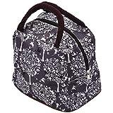 Sodial Fashion Zipper Lunch Bag Picnic Box for Women Tote Handbag