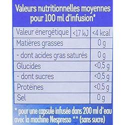 Lipton Infusions Nuit Tranquille Tilleul, Lavande et Camomille, Capsules Compatibles Nespresso 40 Capsules (Lot de 4x10 Capsules)