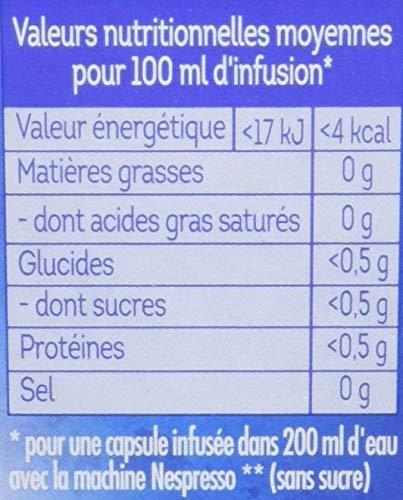 Lipton Infusion Nuit Tranquille 10 Capsules Compatibles Nespresso 16g (Lot de 4)