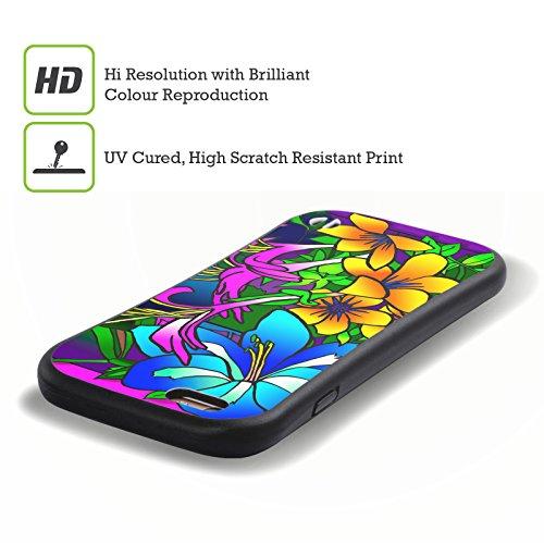 Ufficiale Howie Green Ciotola Di Papaveri Fiori Case Ibrida per Apple iPhone 7 Plus / 8 Plus Kville 8
