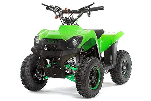 "Kinderquad 49cc Trucky 6"" Miniquad Atv Kinderquad Cross Pocketquad Quad (Grün)"