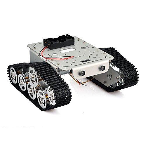 robot-smart-tank-car-platform-metal-acier-inoxydable-chassis-vitesse-encodeur-moteur-9v-avec-chenill