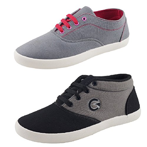 Globalite Women's Combo Of 2 Casual shoes GSC1128_1170DUB UK/IN 4