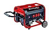 Einhell Stromerzeuger (Benzin) TC PG 3500 W (4,1 kW, Dauerleistung bis 2600 W, max 3100 W, zwei 230 V Anschl sse, 4 Takt Motor, 15 L, berlastschalter, lmangelsicherung, Voltmeter, AVR Funktion)
