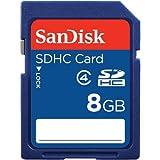 SANDISK SDSDB-8192-A11 CLASS 4 SDHC(TM) MEMORY CARD (8GB)