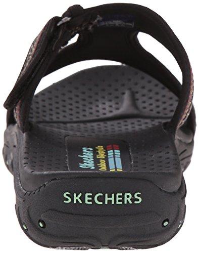 Skechers ReggaeRockfest 47786, Sandali donna Nero