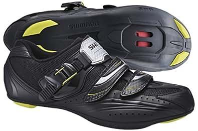Shimano Sh-Rt82, Men Road Biking Shoes, Black (Black), 8.5 UK (43 EU)