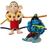 Krishna & Ganesha Action Figure Key Chai...