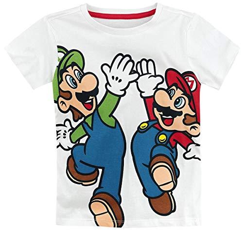 Luigi T-Shirt weiß 110/116 ()