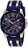 Guess Analog Blue Dial Men's Watch - W03...