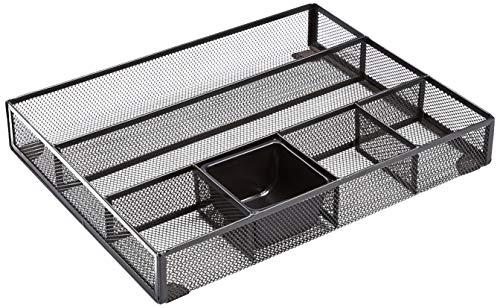 AmazonBasics - Organizer per cassetti in rete metallica