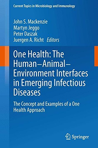 One Health: The Human-Animal-Environment Interfaces in Emerging Infectious Diseases: The Concept and Examples of a One Health Approach (Current Topics in Microbiology and Immunology) (2013-12-09) par unknown author