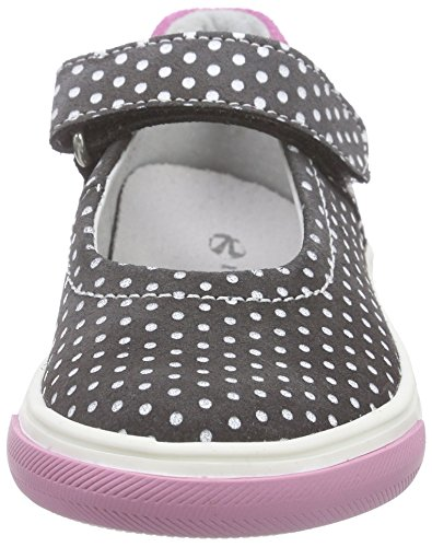 Richter Kinderschuhe Fedora, Ballerines fille Gris - Grau (pebble/lollypop  6611)