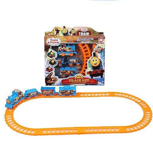JER Elektrotriebwagen Set Zug Fahrzeug Multi-Track Rail Car für Kinderspielzeug Halloween Spielzeug