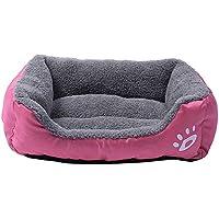 cama mascotas perros rectángulo Sannysis mascotas gatos perros accesorios deportiva perros cama de perrito almohadilla caliente