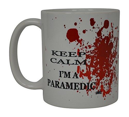 EMT Funny Kaffee Tasse Keep Calm I 'm a Paramedic Neuheit Cup Großartiges Geschenk Idee für EMT EMS Paramedic Ambulance (Männliche Rn Geschenke)