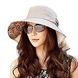 siggi -  Cappello da sole - Donna 66130_Coffee Taglia unica