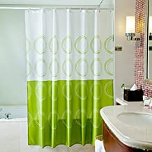 Amazoncouk Shower Curtains Green