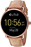 Fossil Q Wander Touchscreen Tan Leather Smartwatch