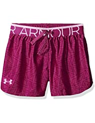 Under Armour Printed Play Up Blc//Vvt Short de Sport Fille