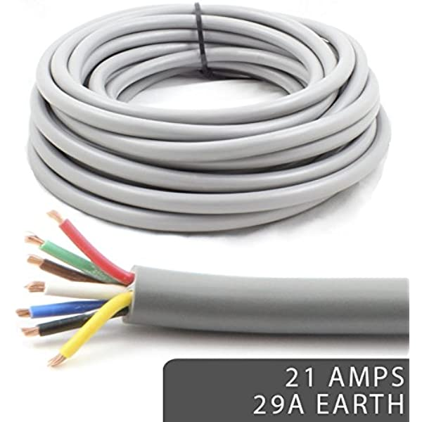Thinwall automotive cable stranded 12v 11amp 16.5amp 21amp single core wiring