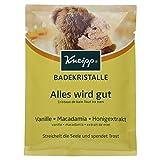 Kneipp Badekristalle Alles wird gut, Vanille Macadamia und Honigextrakt, 60 g