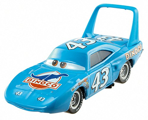 Disney World of Cars 2014 - Figurine vehicule voiture miniature - Asst. Y0471 - PISTON CUP - 10/16 - THE KING BHN58