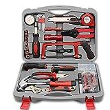 LXDTOOL Haushalts-Werkzeug-Set, Heim-Hardware-Kombination Manuelle Reparatur-Kit, 40 Stück
